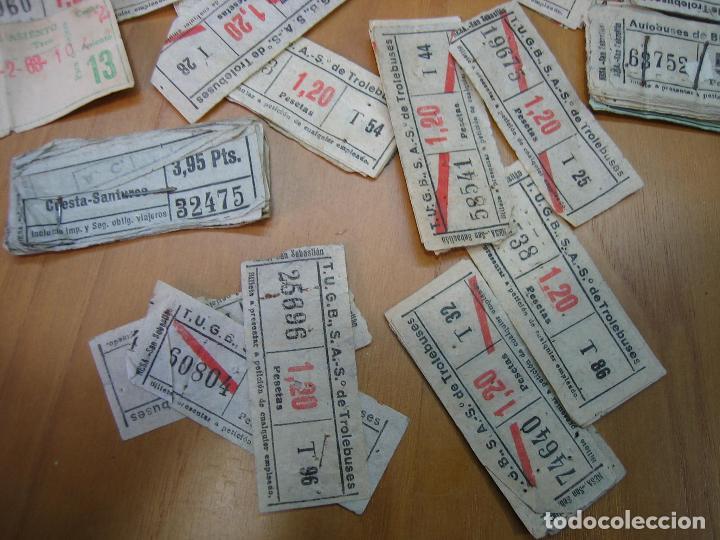 Coleccionismo Billetes de transporte: Lote de antiguos billetes de transporte - Foto 5 - 118302639