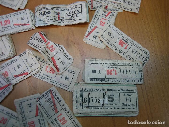 Coleccionismo Billetes de transporte: Lote de antiguos billetes de transporte - Foto 6 - 118302639