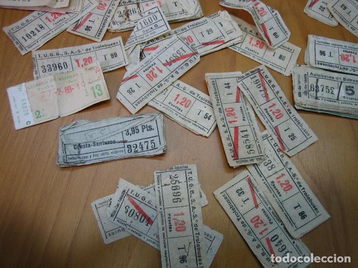 Coleccionismo Billetes de transporte: Lote de antiguos billetes de transporte - Foto 8 - 118302639