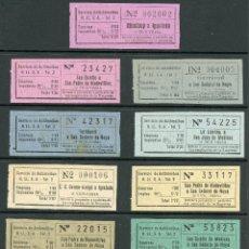 Coleccionismo Billetes de transporte: (L405) 13 BILLETES DE HISPANO LLACUNENSES S.A. // AÑOS 40 - 50 // X41. Lote 121578403