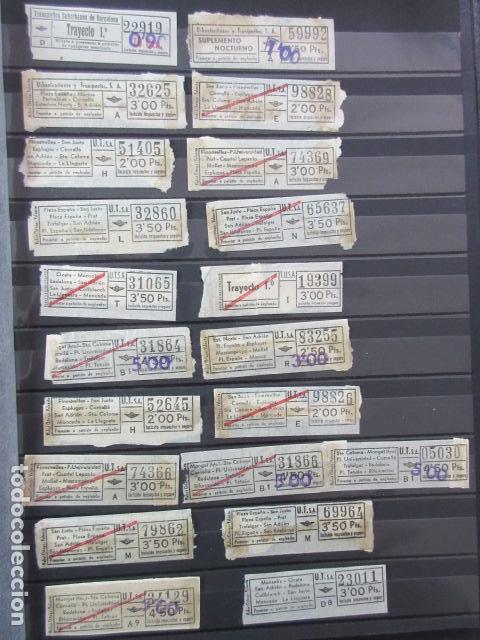 LOTE 28 BILLETES DIFERENTE URBAS TUSA URBANIZACIONES Y TRANSPORTES VER FOTOS- ARD-111 LEER INT (Coleccionismo - Billetes de Transporte)