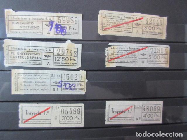 Coleccionismo Billetes de transporte: LOTE 28 BILLETES DIFERENTE URBAS TUSA URBANIZACIONES Y TRANSPORTES VER FOTOS- ARD-111 LEER INT - Foto 3 - 123383111