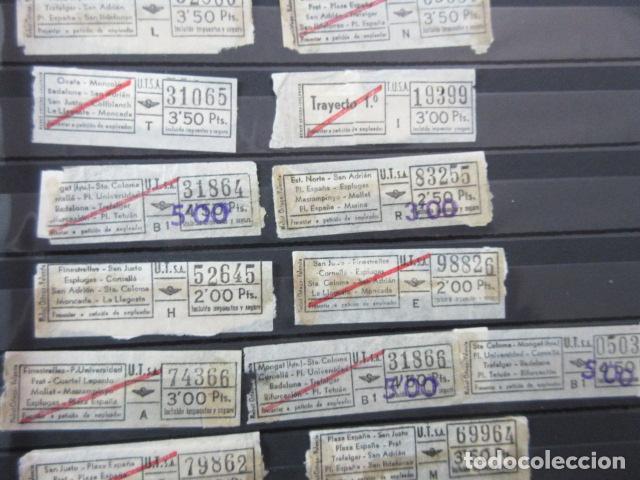 Coleccionismo Billetes de transporte: LOTE 28 BILLETES DIFERENTE URBAS TUSA URBANIZACIONES Y TRANSPORTES VER FOTOS- ARD-111 LEER INT - Foto 4 - 123383111