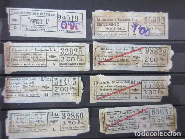 Coleccionismo Billetes de transporte: LOTE 28 BILLETES DIFERENTE URBAS TUSA URBANIZACIONES Y TRANSPORTES VER FOTOS- ARD-111 LEER INT - Foto 5 - 123383111