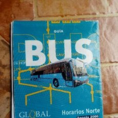 Collezionismo Biglietti di trasporto: ANTIGUO FOLLETO HOJA ITINERARIO GUAGUA AUTOBUS INTERURBANO GLOBAL SALCAI UTINSA CANARIAS 2006 NORTE. Lote 125075979