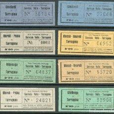 Coleccionismo Billetes de transporte: (L492) BILLETE DE AUTO TRANSPORTE VILALLONGA // V45. Lote 126154591
