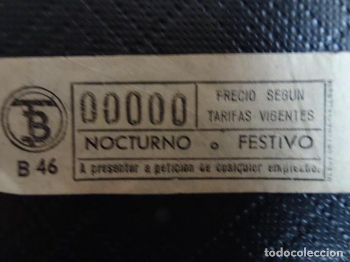 Coleccionismo Billetes de transporte: LOTE DE 11 ANTIGUOS BILLETES TB Y OTRO FERROCARRIL, TODOS CAPICUA, VER FOTOS - Foto 11 - 132199082
