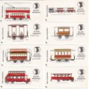 Coleccionismo Billetes de transporte: COLECCIÓN DE 54 BILLETES ORDINARIOS DE TRANSPORTE DE BARCELONA (TRANVIA-BUS-METRO). Lote 132907722