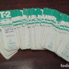 Coleccionismo Billetes de transporte: ANTIGUA TARJETA RESISTIVA METROPOLITANA TMB (0,7 UNIDAD) - T1/ T2/ T4 - METRO.TRAMVIA BLAU.FUNICULAR. Lote 133831018