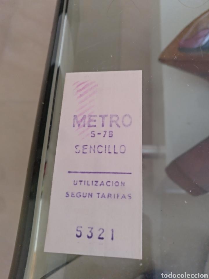 BILLETE METRO MADRID 1978 (Coleccionismo - Billetes de Transporte)