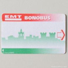 Coleccionismo Billetes de transporte: BONOBUS - EMT - VALENCIA - SIN USO. Lote 135648691