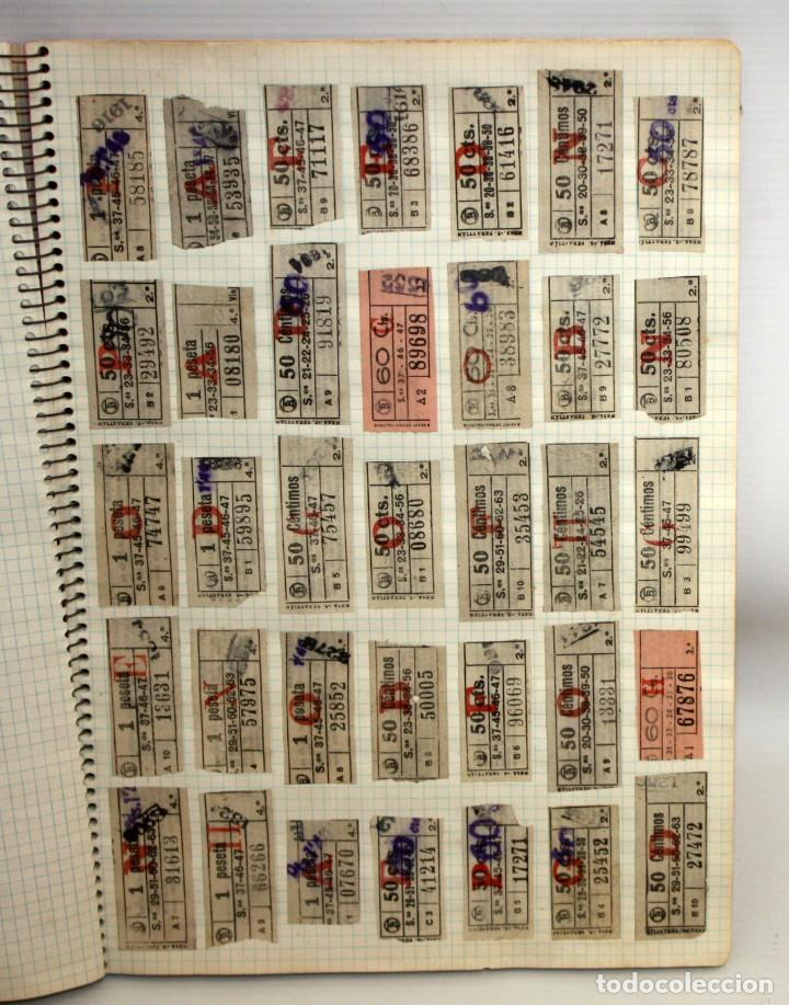 LOTE DE 980 BILLETES DE TRANVIA CAP I CUA. (Coleccionismo - Billetes de Transporte)
