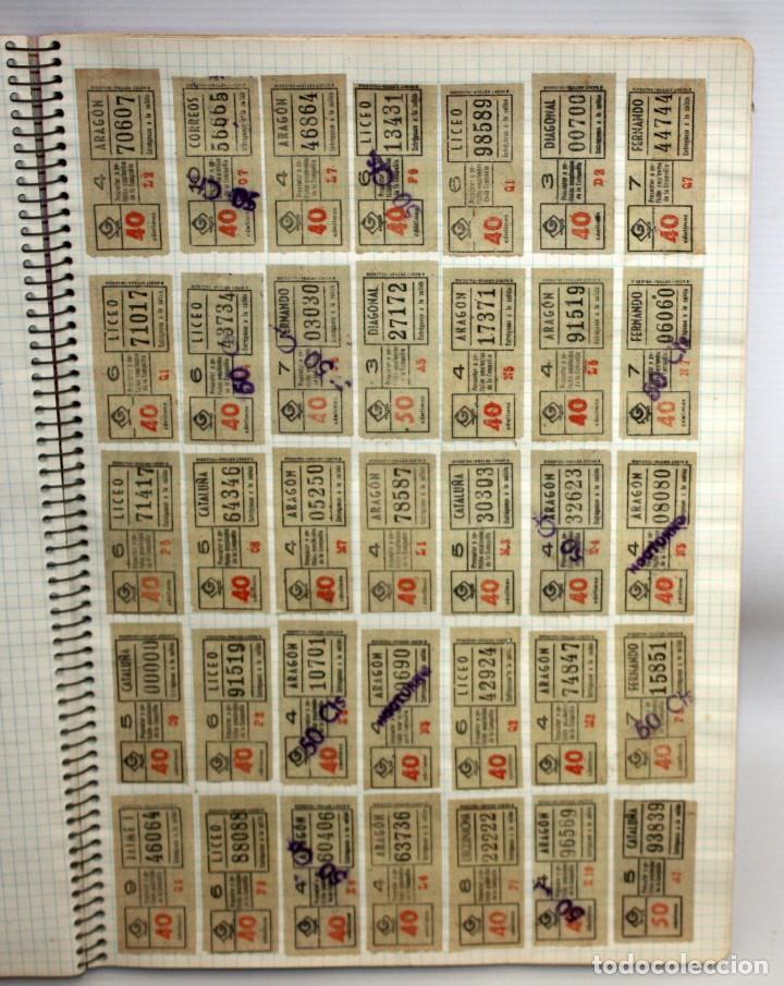 Coleccionismo Billetes de transporte: LOTE DE 980 BILLETES DE TRANVIA CAP I CUA. - Foto 2 - 136812262
