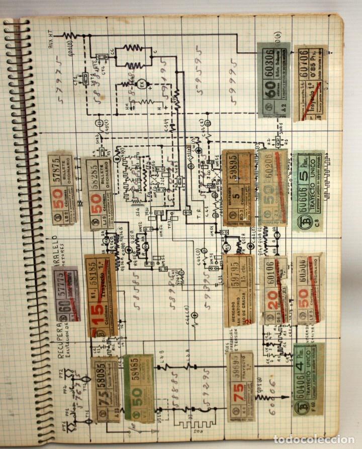 Coleccionismo Billetes de transporte: LOTE DE 980 BILLETES DE TRANVIA CAP I CUA. - Foto 4 - 136812262