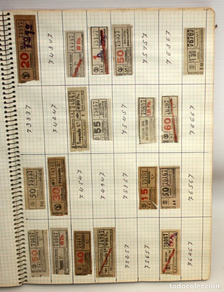 Coleccionismo Billetes de transporte: LOTE DE 980 BILLETES DE TRANVIA CAP I CUA. - Foto 7 - 136812262
