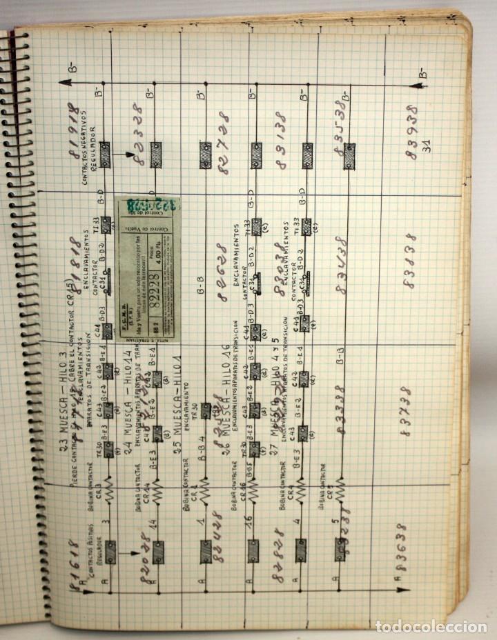 Coleccionismo Billetes de transporte: LOTE DE 980 BILLETES DE TRANVIA CAP I CUA. - Foto 8 - 136812262
