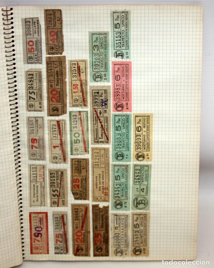 Coleccionismo Billetes de transporte: LOTE DE 980 BILLETES DE TRANVIA CAP I CUA. - Foto 9 - 136812262