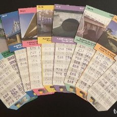 Coleccionismo Billetes de transporte: BONO BUS ZARAGOZA AÑO 2001. Lote 137184326