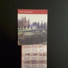 Coleccionismo Billetes de transporte: BILLETES BONO BUS ZARAGOZA AÑO 1999. Lote 137184926