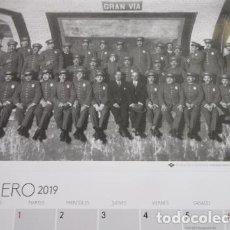 Collectionnisme Billets de transport: CALENDARIO 2019 CENTENARIO METRO MADRID PRECIOSAS LAMINAS DE FOTOS 30 X 43 CM. Lote 164193289