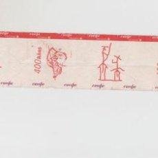Coleccionismo Billetes de transporte: SECUENCIA RENFE CERCANIAS MADRID SIN CORTAR Y SIN USAR IV CENTENARIO DEL QUIJOTE - CUATRO BILLETES. Lote 148782838