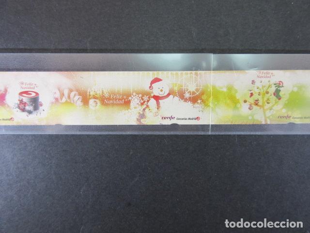 Coleccionismo Billetes de transporte: CERCANIAS RENFE MADRID AÑO 2012 - 6 BILLETES FORMAR SECUENCIA COMPLETA OJOJO SIN CORTAR SIN USAR - Foto 3 - 148783530