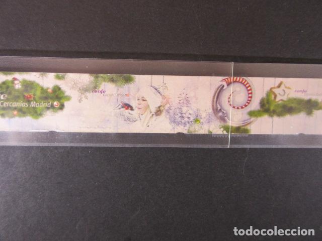 Coleccionismo Billetes de transporte: CERCANIAS RENFE MADRID AÑO 2013 - 6 BILLETES FORMAR SECUENCIA COMPLETA OJOJO SIN CORTAR SIN USAR - Foto 2 - 148783658