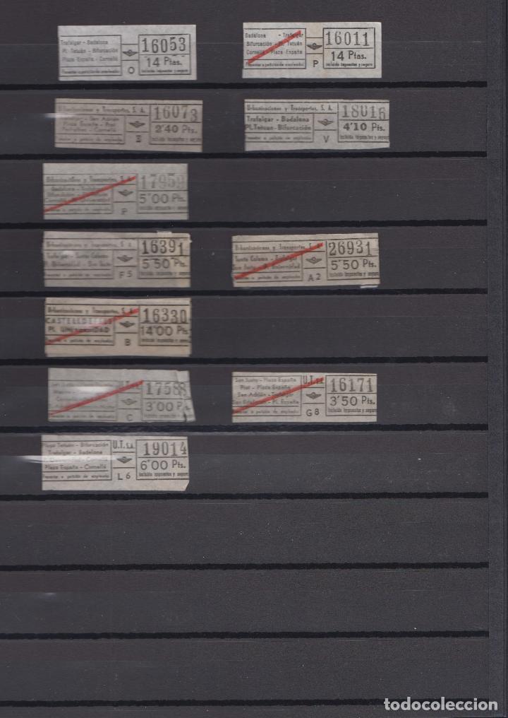 Coleccionismo Billetes de transporte: COLECCION 27 BILLETES DIFERENTES urbas URBANIZACIONES Y TRANSPORTES TODOS DIFERENTES - Foto 3 - 148907730