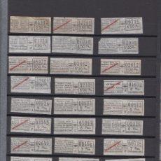 Coleccionismo Billetes de transporte: COLECCION 96 BILLETES DIFERENTES URBAS URBANIZACIONES Y TRANSPORTES - LEER INTERIOR. Lote 151141026