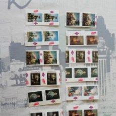 Coleccionismo Billetes de transporte: 14 BILLETES METRO MADRID. COLECCIÓN GOYA. AÑOS 80. Lote 151596214