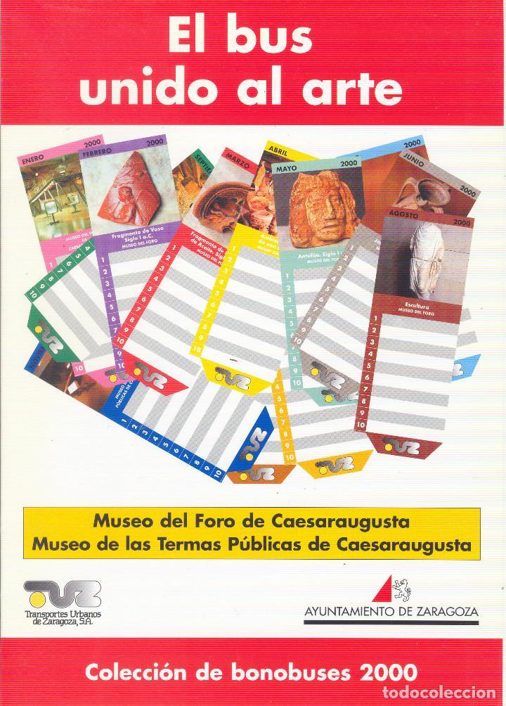 Coleccionismo Billetes de transporte: Coleccion Bonobuses de Zaragoza. Años 1996 a 2001 Inc. Carpetas oficiales completas. EX - Foto 9 - 154875518