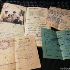 Coleccionismo Billetes de transporte: BILLETE KILÓMETRICO. TARIFA 109. CLASE 2A.. Lote 155997225