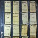 Coleccionismo Billetes de transporte: COLECCIÓN 42 BILLETES HUGIN RENFE SIN USO NUEVOS TODOS DIFERENTES VER INTERIOR. Lote 156747338