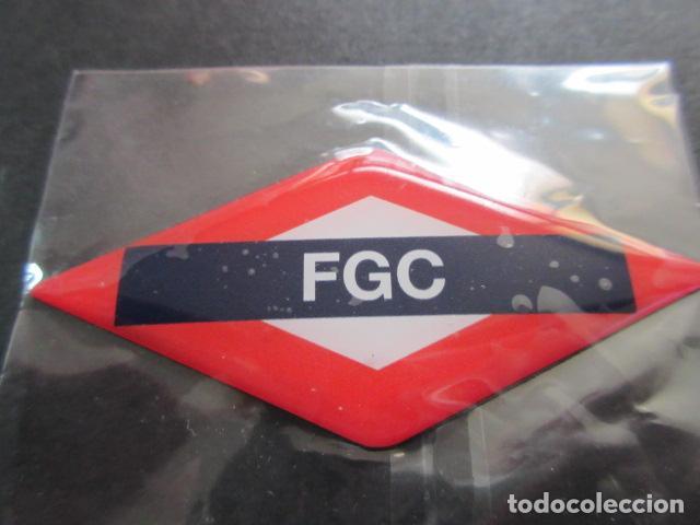 IMAN ROMBO FERROCARRILES GENERALITAT (Coleccionismo - Billetes de Transporte)
