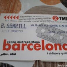 Coleccionismo Billetes de transporte: BILLETE SENCILLO ENTRADA CINE. Lote 160019214
