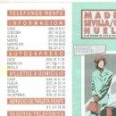 Coleccionismo Billetes de transporte: ANTIGUO HORARIO RENFE MADRID SEVILLA CADIZ HUELVA. AÑO 1993. Lote 160833290