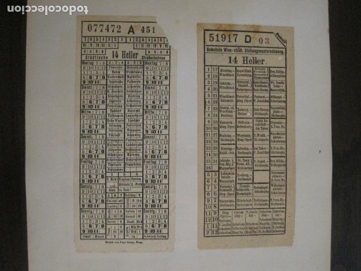 Coleccionismo Billetes de transporte: BILLETES TRANSPORTE-AUSTRIA-5 BILLETES ANTIGUOS TRANSPORTE-VER FOTOS(V-16.911) - Foto 4 - 163961434