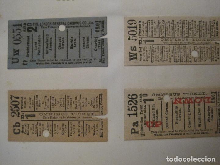Coleccionismo Billetes de transporte: BILLETES TRANSPORTE-INGLATERRA-40 BILLETES ANTIGUOS TRANSPORTE-VER FOTOS-(V-16.912) - Foto 2 - 163961618