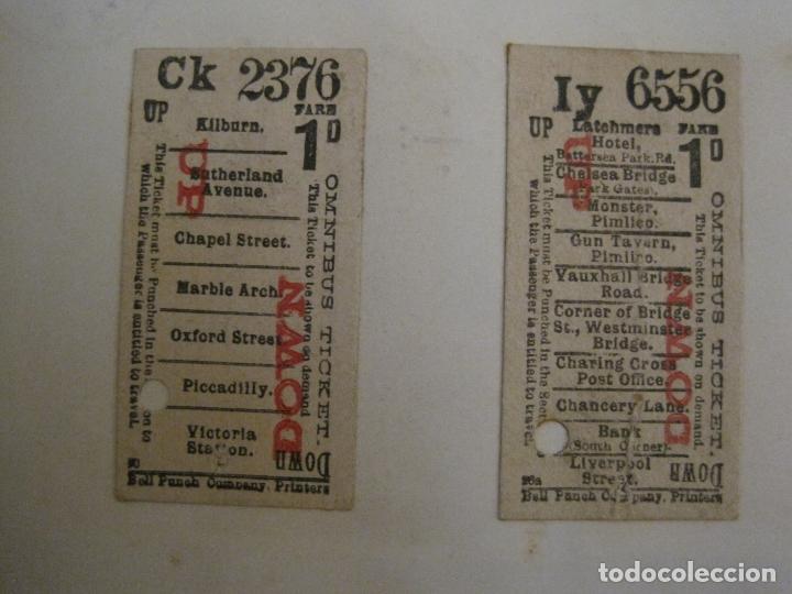 Coleccionismo Billetes de transporte: BILLETES TRANSPORTE-INGLATERRA-40 BILLETES ANTIGUOS TRANSPORTE-VER FOTOS-(V-16.912) - Foto 5 - 163961618