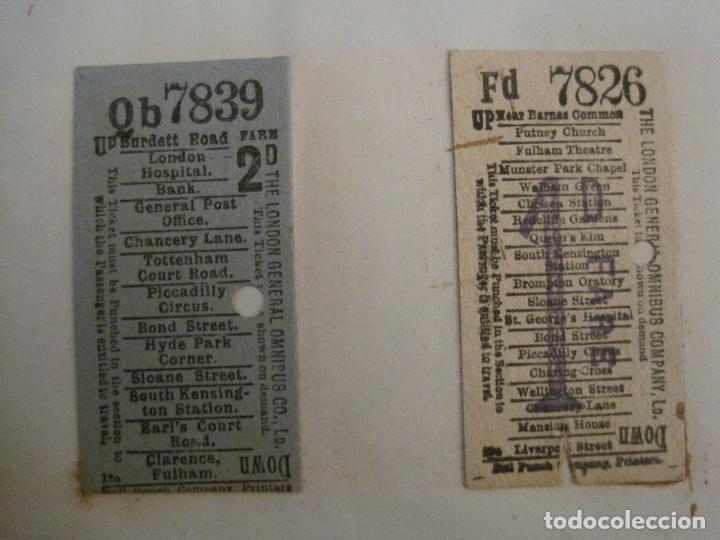 Coleccionismo Billetes de transporte: BILLETES TRANSPORTE-INGLATERRA-40 BILLETES ANTIGUOS TRANSPORTE-VER FOTOS-(V-16.912) - Foto 8 - 163961618