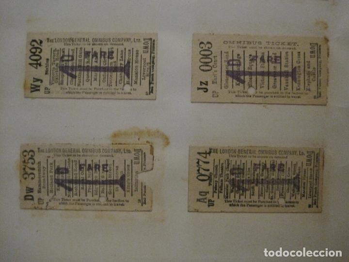 Coleccionismo Billetes de transporte: BILLETES TRANSPORTE-INGLATERRA-40 BILLETES ANTIGUOS TRANSPORTE-VER FOTOS-(V-16.912) - Foto 10 - 163961618