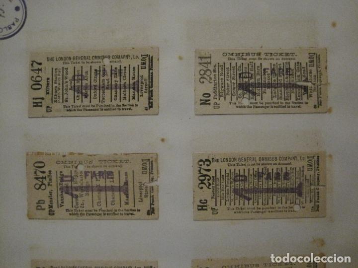 Coleccionismo Billetes de transporte: BILLETES TRANSPORTE-INGLATERRA-40 BILLETES ANTIGUOS TRANSPORTE-VER FOTOS-(V-16.912) - Foto 11 - 163961618
