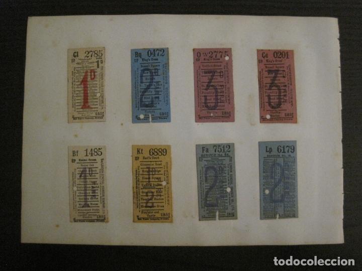 Coleccionismo Billetes de transporte: BILLETES TRANSPORTE-INGLATERRA-40 BILLETES ANTIGUOS TRANSPORTE-VER FOTOS-(V-16.912) - Foto 12 - 163961618