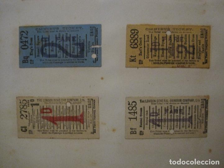 Coleccionismo Billetes de transporte: BILLETES TRANSPORTE-INGLATERRA-40 BILLETES ANTIGUOS TRANSPORTE-VER FOTOS-(V-16.912) - Foto 13 - 163961618