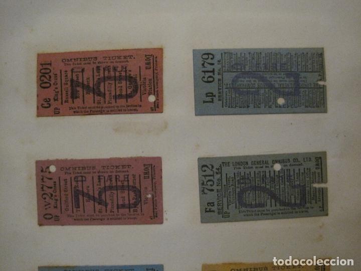 Coleccionismo Billetes de transporte: BILLETES TRANSPORTE-INGLATERRA-40 BILLETES ANTIGUOS TRANSPORTE-VER FOTOS-(V-16.912) - Foto 14 - 163961618