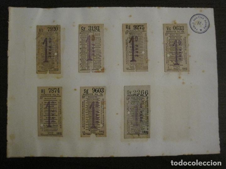 Coleccionismo Billetes de transporte: BILLETES TRANSPORTE-INGLATERRA-40 BILLETES ANTIGUOS TRANSPORTE-VER FOTOS-(V-16.912) - Foto 15 - 163961618