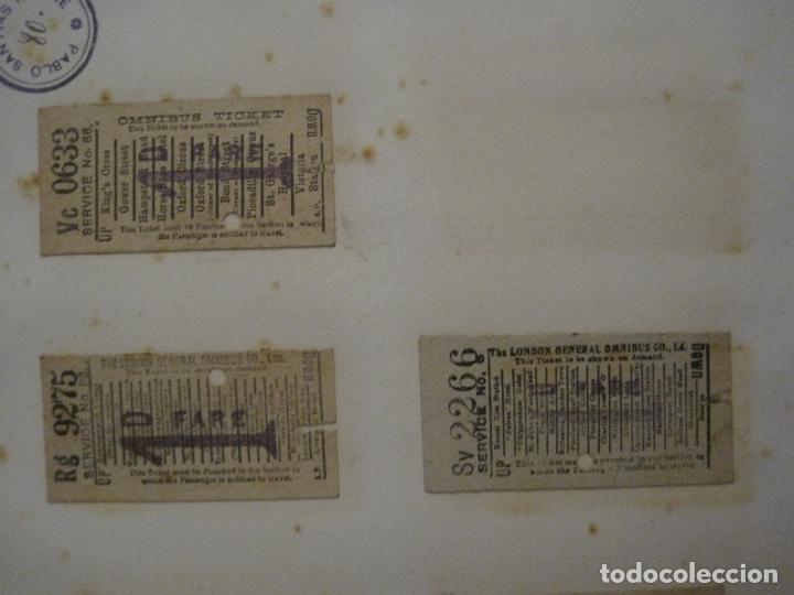 Coleccionismo Billetes de transporte: BILLETES TRANSPORTE-INGLATERRA-40 BILLETES ANTIGUOS TRANSPORTE-VER FOTOS-(V-16.912) - Foto 18 - 163961618