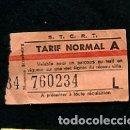 Coleccionismo Billetes de transporte: BILLETE DE LA S.T.C.R TRANSPORT MAROC MARRUECOS . Lote 165654846