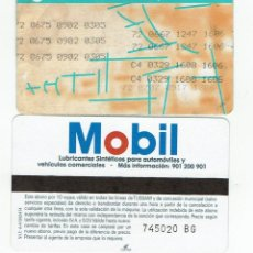 Coleccionismo Billetes de transporte: GIRALDA -ANTIGUO ABONO AUTOBUS CON TRANSBORDO - PUBLICIDAD REVERSO MOBIL , TUSSAM SEVILLA BUS. Lote 165951082
