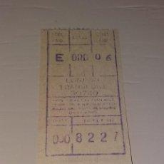 Coleccionismo Billetes de transporte: PAPEL ANTIGUO. BILLETE ANTIGUO DE AUTOBÚS EN LONDRES. AÑOS 60. Lote 166127810